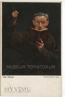 Monk zakonnik - lektura 4 w MUSEUM TOMATORUM - Skład staroci - MyViMu.com - Moje Wirtualne Muzeum