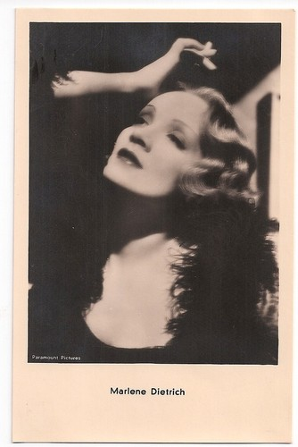Marlene Dietrich - orig. Iris Amag Film AK Karte Autogrammkarte | eBay