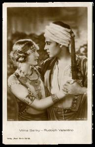 Rudolph Valentino i Vilma Banky