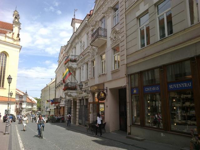 Pilies gatvė - Wilno Litwa ulica Zamkowa