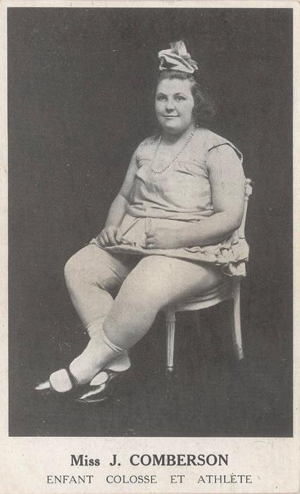 Panna J. Comberson - dziecko kolos i atleta