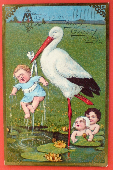 Bocian przynosi dzieci