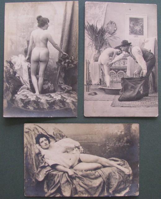 pocztówki erotyczne, 60EUR, pocztówka fot. lacasadelcollezionista.it