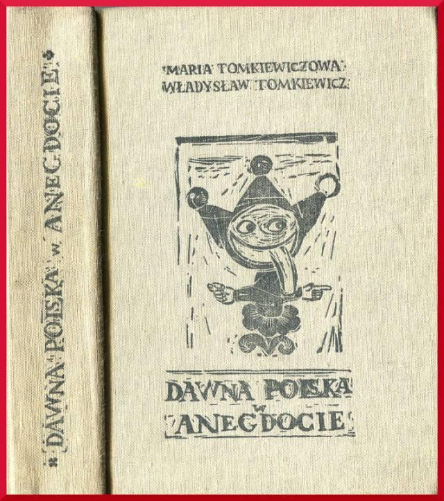 Jedna z książek nabyta za śmieszny grosz w żoliborskim antykwariacie