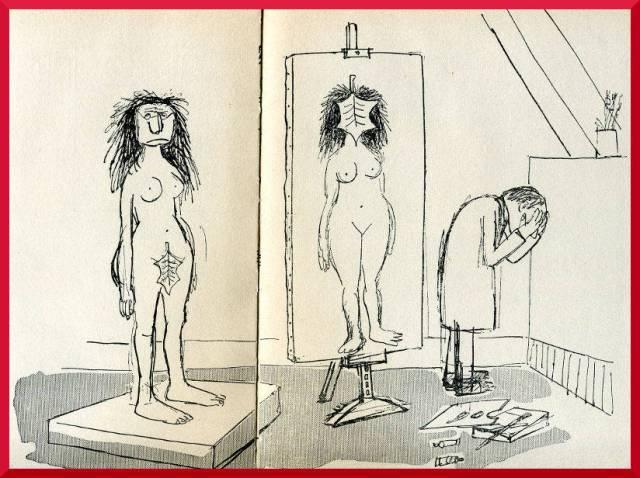 jeden ze śmieszniejszych rysunków z książki François André, Buchheim-Verlag