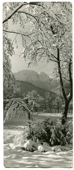 fotografia wysłana jako pocztówka, St. Burnatowicz, Zakopane