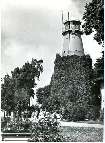 Rozewie, Latarnia Morska, pocztówka fotograficzna, ok. 1967 roku, fot. J. Siudecki