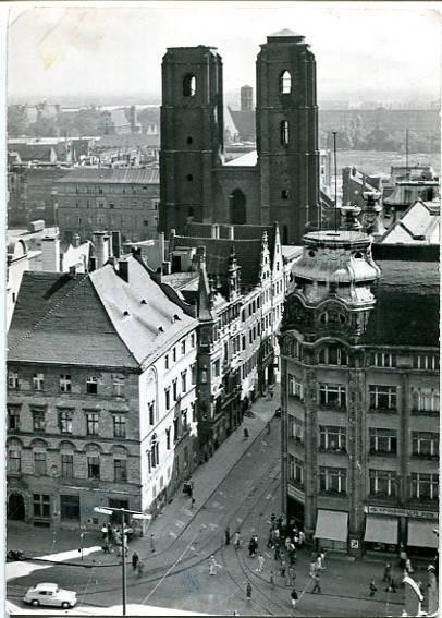 Wrocław, widok z wieży Ratusza, fot. L. Święcki, PTTK, Wrocław