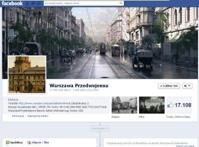 Warszawa przedwojenna fb