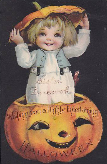 Vintage Old Halloween Postcards _  (11)
