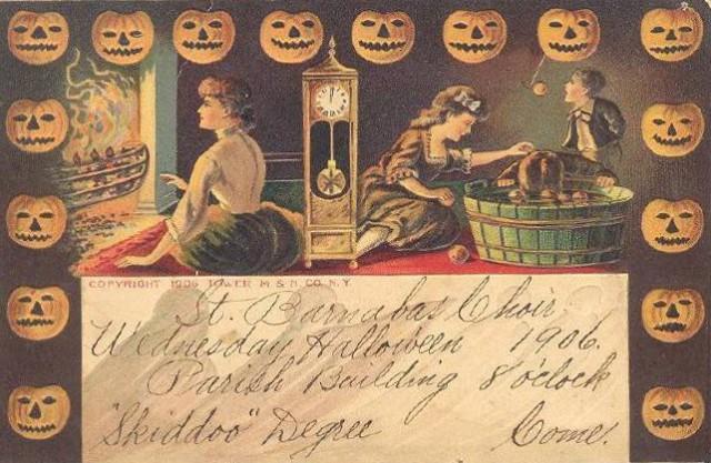 Vintage Old Halloween Postcards _  (14)