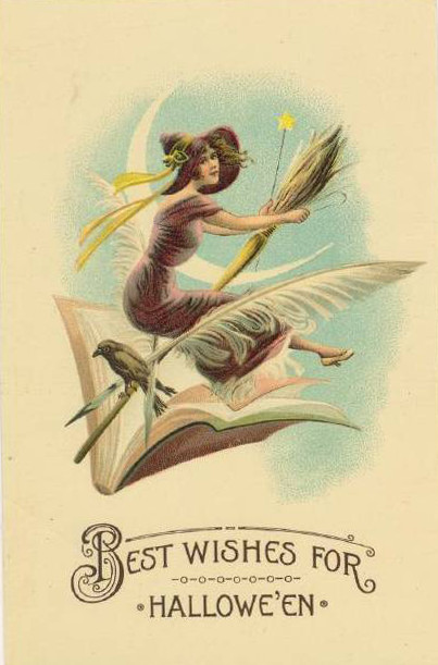 Vintage Old Halloween Postcards _  (16)