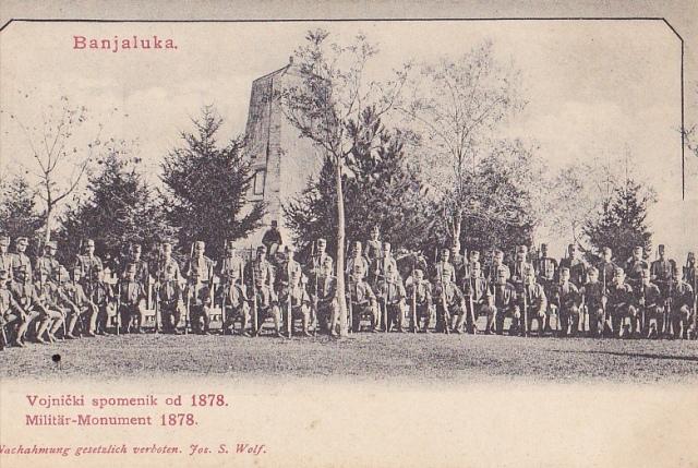 Banja Luka, Bośnia i Hercegowina, stara pocztówka fot. delcampe.net