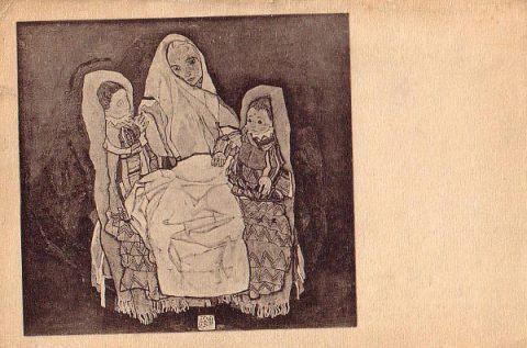 Egon Schiele, Matka, 1917