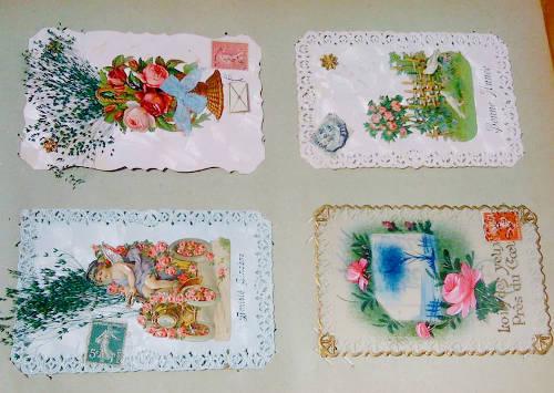 kolekcja pocztówek