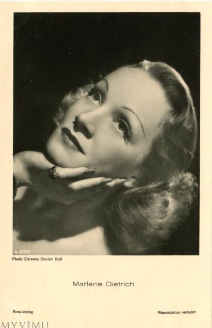 marlene dietrich on vintage postcards 5