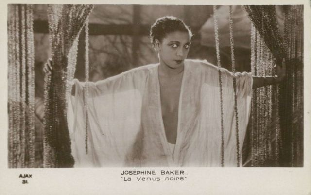 stara pocztówka Vintage Postcard Josephine Baker _  (3)