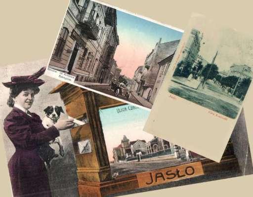 Stare pocztówki z Jasła, Rzeszowa i Krosna