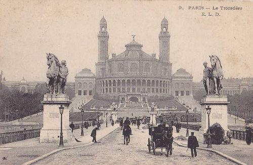 Trocadero, Paryż - c. 1908
