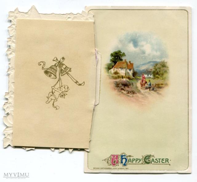 2. pocztówka - rozkładana, John Winsch, ok. 1911, USA