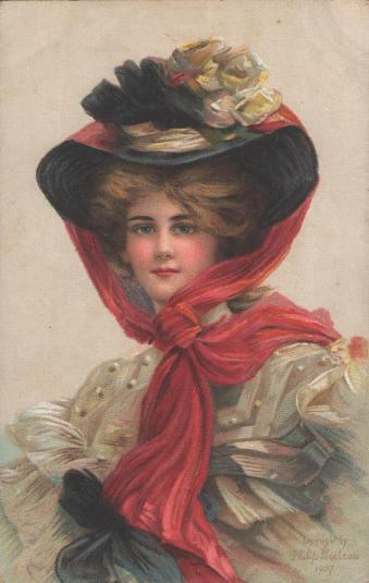 Stara pocztówka, Philip Boileau