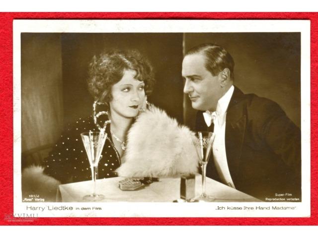 """Marlene Dietrich & Harry Liedtke w filmie """"Ich küsse Ihre Hand, Madame"""""""