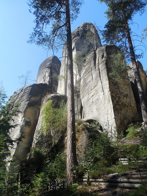 Adršpach Skalne Miasto Rock Town Czech Republic (10)