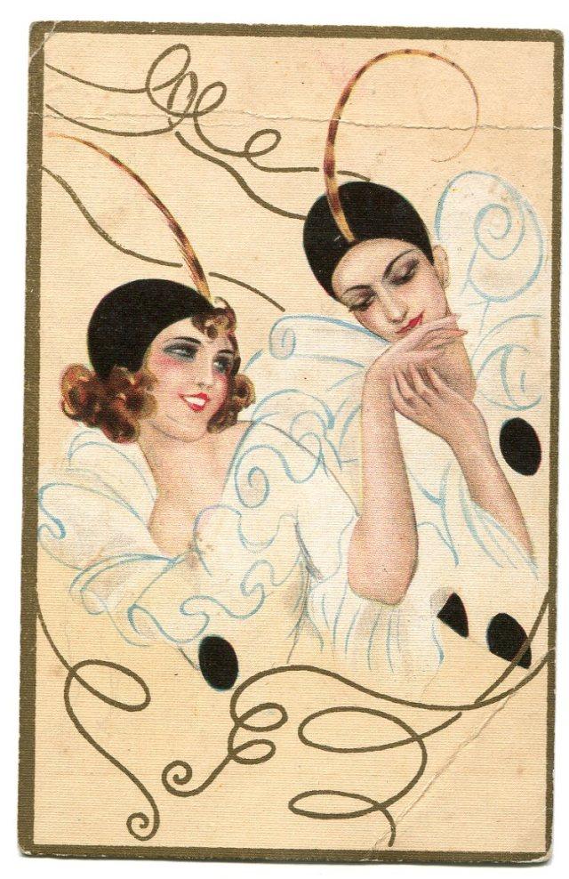 Chiostri, Art Deco stara pocztówka