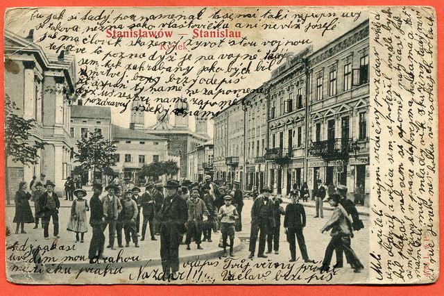 Stanislawow, Stanislau 1905