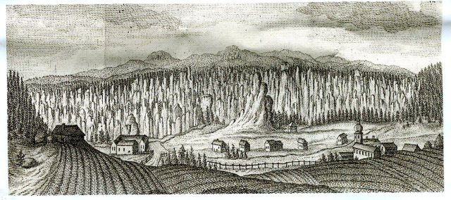Skały Adrspaskie, 1739