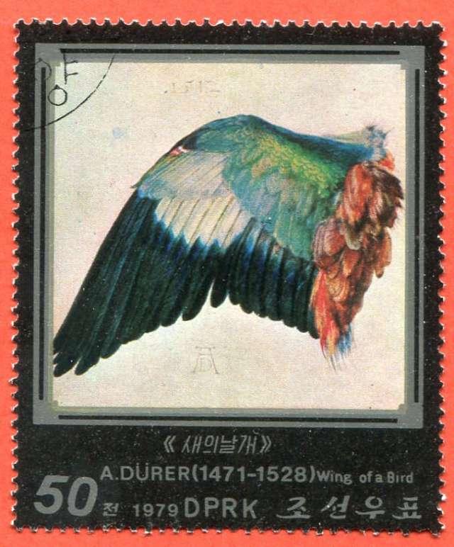 Dzieła Albrechta Dürera, 1979 North Korea Północna, (2)