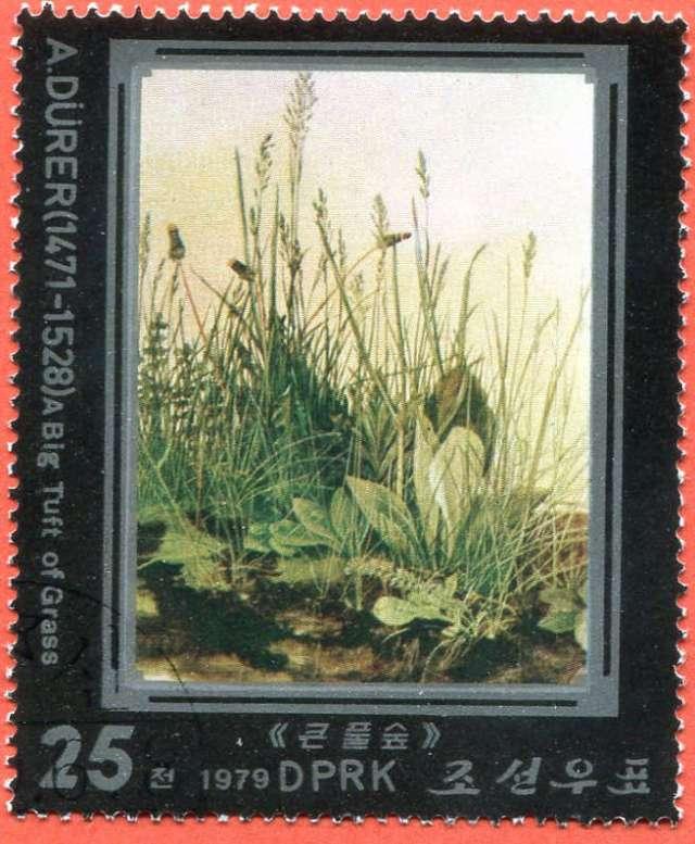 Dzieła Albrechta Dürera, 1979 North Korea Północna,
