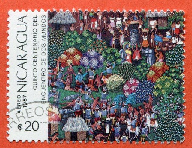 Nicaragua, 1987 Pięćsetlecie spotkania dwóch światów