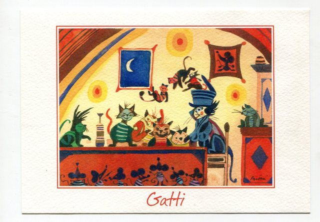 pocztówka GATTI San Gimignano