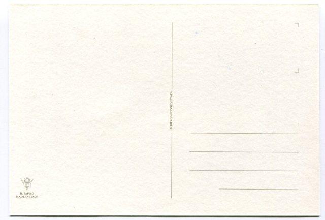 rewers pocztówka z Florencji Ponte Vecchio ( Il Papirus, Firenze)