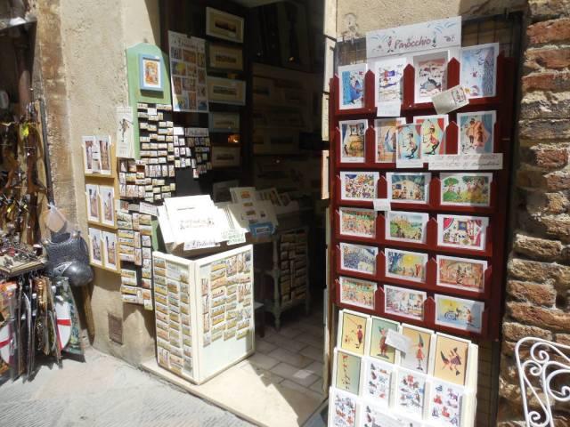 Cartoleria San Gimignano Negozio sklep papierniczy