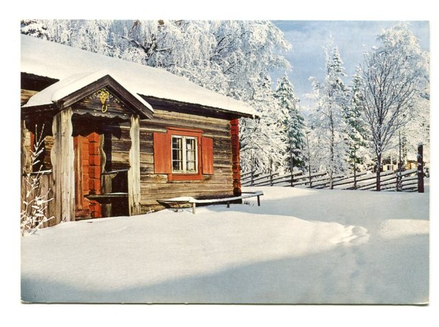 Zima w Dalarna, Szwecja, c. 1960-1980 ( Ultra, Gerhards)