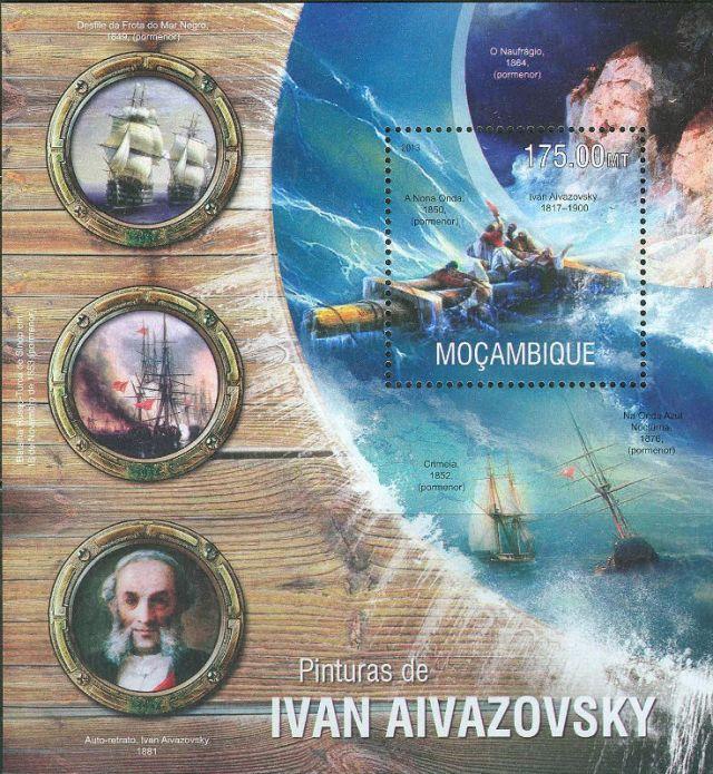 Ajwazowski, blok Mozambik