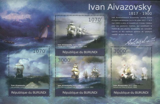 Ajwazowski, blok Burundi