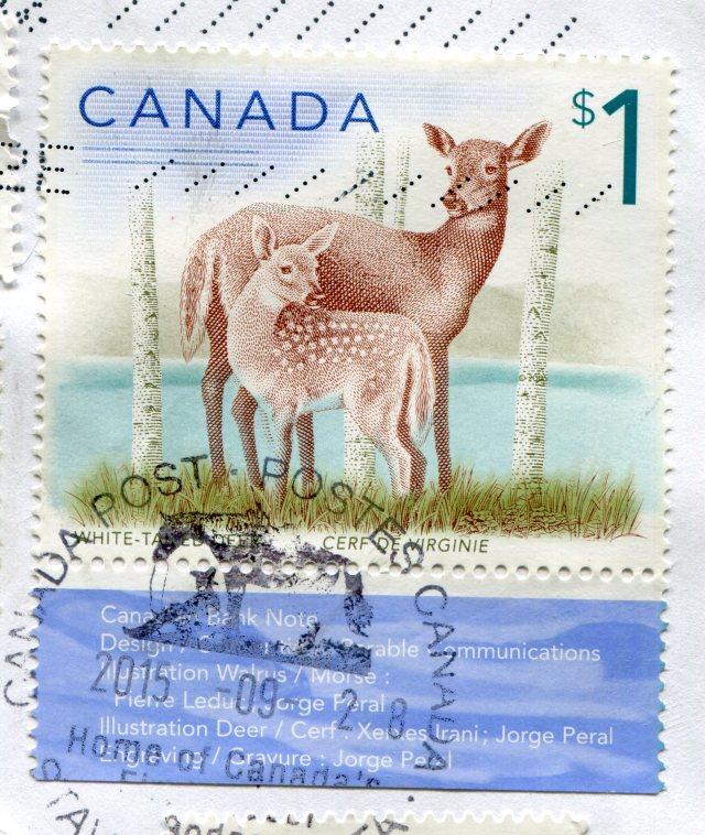Znaczki Kanada