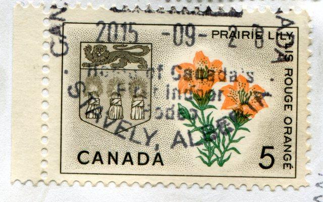 Znaczki Kanada lotwa 213