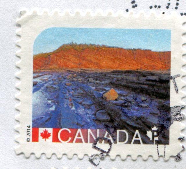 Znaczki Kanada lotwa 214