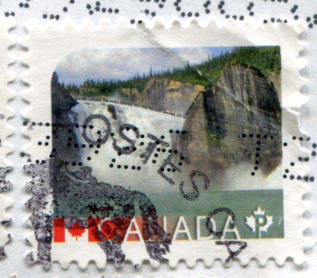 Znaczki Kanada lotwa 215