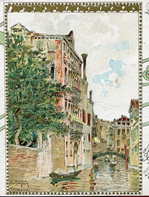 detal Raffaele Tafuri, Venezia