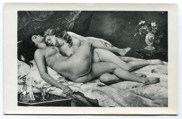 Gustave Courbet Le sommeil Petit Palais Paris Lyna Paris