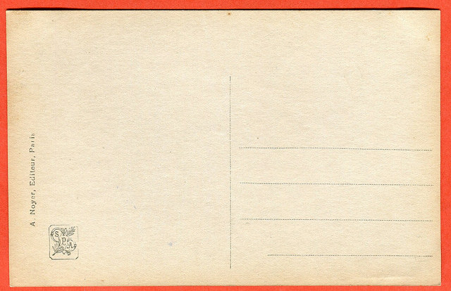 rewers Jean Coraboeuf - Abandon (Porzucenie), A. Noyer Paris,
