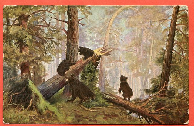 J. J. Schischkin Morgen im Walde ( Poranek w lesie)