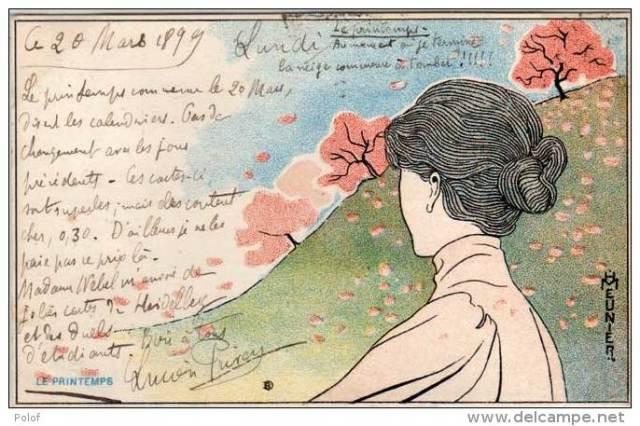 Henri Meunier, Wiosna, ok. 1900