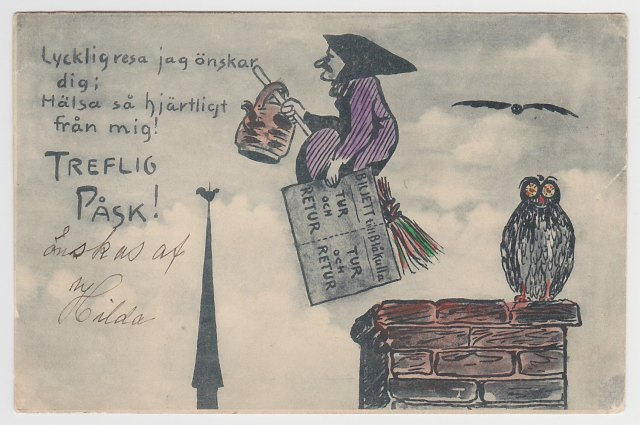 Wielkanocna czarownica, Tage Nilsson bez podpisu
