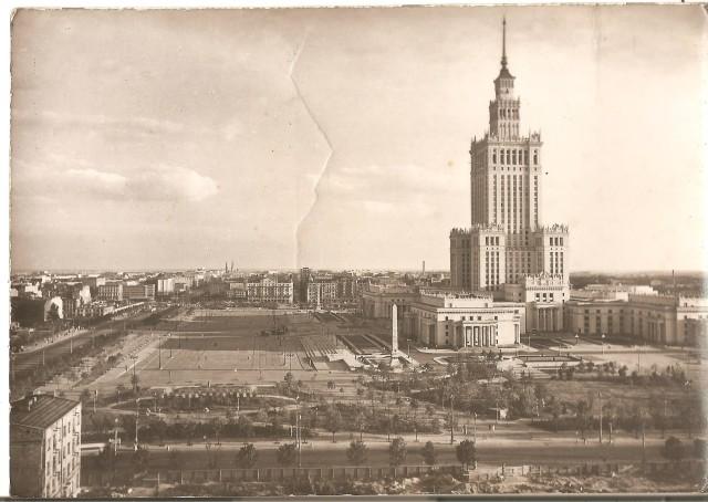 Warszawa Pałac Kultury i Nauki, J. Siudecki, wydanie Foto Ruch (2)